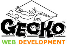 Gecko Web Development - Affordable web design, hosting, domain registration and search engine submission. We have several plans designed to make your move to the web affordable and hassle free. We provide you with a complete solution including domain registration, website design and website hosting.