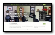 HAIR SENSATIONS Brighton offers professional service, high quality products, and exceptional hairstyling services.