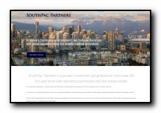 SouthPac Partners is a private investment group based in Vancouver, BC focused on private operating businesses and real estate assets
